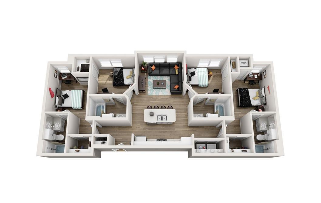 D1 – Happy Days House Floor Plan