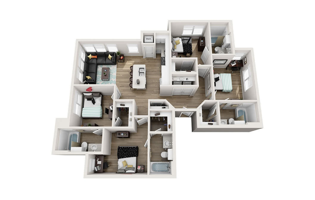 D488 488 488 488 48 Bedroom Apartments For Rent At Bridges ND Mesmerizing How Much Is Rent For A 2 Bedroom Apartment Model Plans
